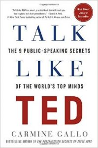 A Book for Entrepreneurs to Be Talk Like a TED Talker